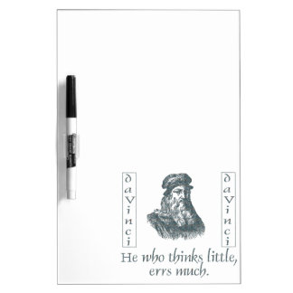 Leonardo da Vinci Dry Erase Board