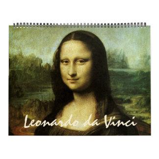 Leonardo da Vinci Fine Art Paintings and Sketches Calendar