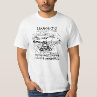 Leonardo Da Vinci flying machine! The Flight of Ge T-Shirt