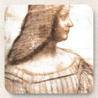 Leonardo da Vinci - Isabella D'este Painting Coaster
