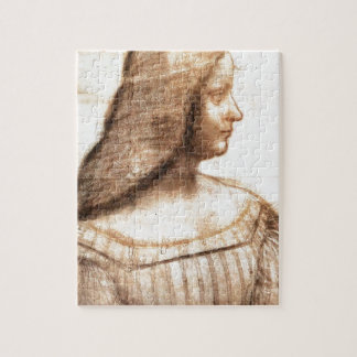 Leonardo da Vinci - Isabella D'este Painting Jigsaw Puzzle