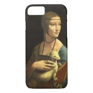 Leonardo Da Vinci Lady With An Ermine Vintage iPhone 7 Case