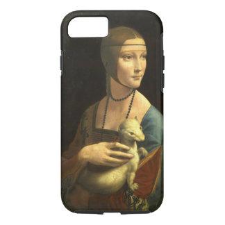 Leonardo Da Vinci Lady With An Ermine Vintage iPhone 8/7 Case