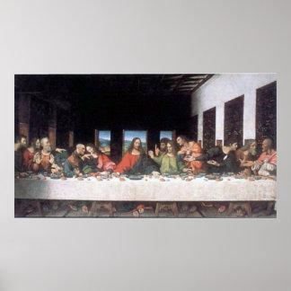 Leonardo da Vinci Last Supper Poster