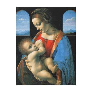 Leonardo da Vinci Madonna Litta Canvas Print