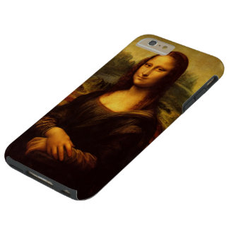 Leonardo Da Vinci Mona Lisa Fine Art Painting Tough iPhone 6 Plus Case