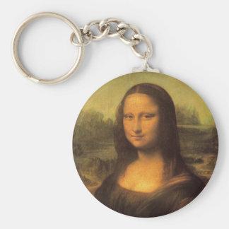 Leonardo Da Vinci' Mona Lisa Key Ring