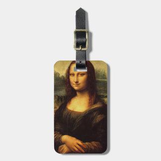 LEONARDO DA VINCI - Mona Lisa, La Gioconda 1503 Bag Tag