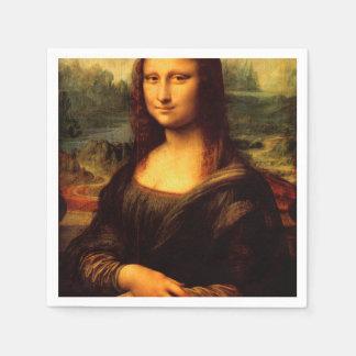 LEONARDO DA VINCI - Mona Lisa, La Gioconda 1503 Disposable Serviette