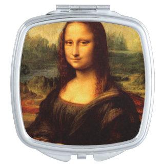 LEONARDO DA VINCI - Mona Lisa, La Gioconda 1503 Makeup Mirror