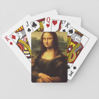 LEONARDO DA VINCI - Mona Lisa, La Gioconda 1503 Playing Cards