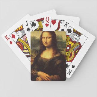 LEONARDO DA VINCI - Mona Lisa, La Gioconda 1503 Poker Deck