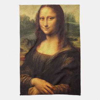 LEONARDO DA VINCI - Mona Lisa, La Gioconda 1503 Tea Towel