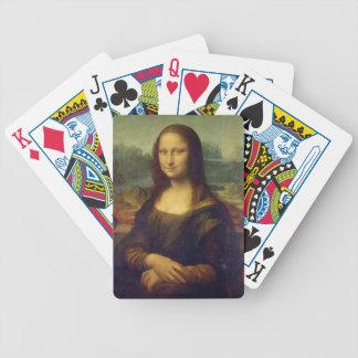 Leonardo da Vinci - Mona Lisa Painting Bicycle Playing Cards