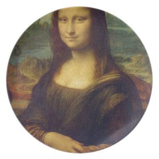 Leonardo da Vinci - Mona Lisa Painting Plate