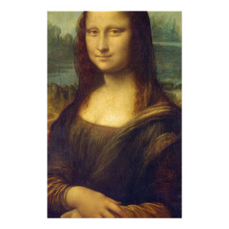 Leonardo da Vinci - Mona Lisa Painting Stationery