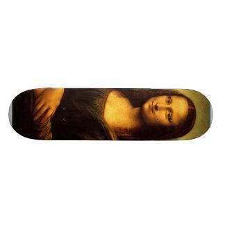 Leonardo Da Vinci - Mona Lisa Skateboard Deck