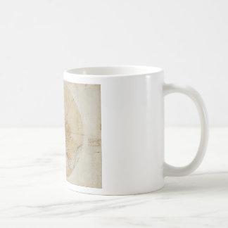 Leonardo da Vinci - Plan of Imola Painting Coffee Mug