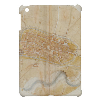 Leonardo da Vinci - Plan of Imola Painting iPad Mini Cover