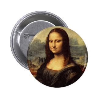 Leonardo da Vinci s Mona Lisa Button