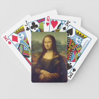 Leonardo da Vinci's Mona Lisa Bicycle Playing Cards