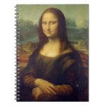 Leonardo da Vinci's Mona Lisa Spiral Notebook