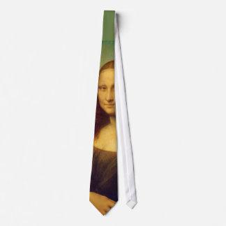 Leonardo da Vinci's Mona Lisa Tie