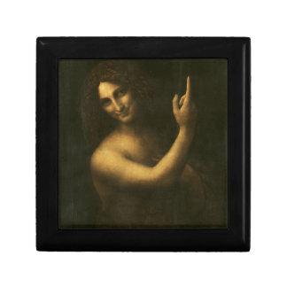 Leonardo da Vinci -Saint John the Baptist Painting Gift Box