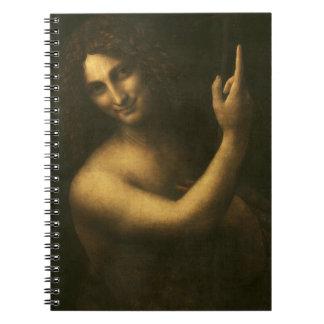 Leonardo da Vinci -Saint John the Baptist Painting Notebooks