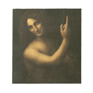 Leonardo da Vinci -Saint John the Baptist Painting Notepad