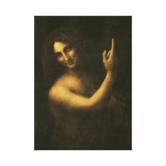 Leonardo da Vinci St. John the Baptist Canvas Print