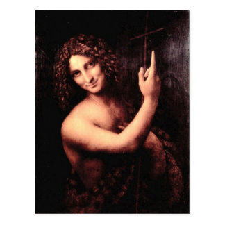 Leonardo da Vinci - St John the Baptist Postcard