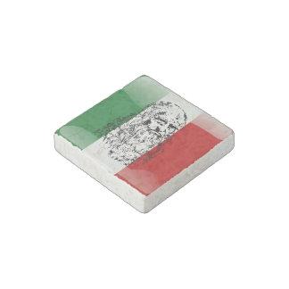 Leonardo da Vinci Stone Magnet