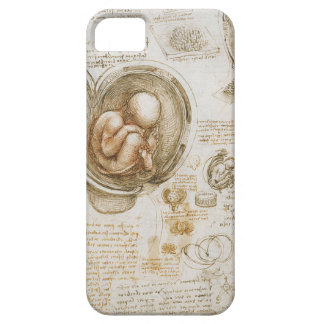 Leonardo da Vinci Studies of the Fetus in the Womb iPhone 5 Case