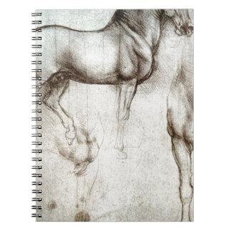 Leonardo da Vinci - Study of a Horse Notebooks