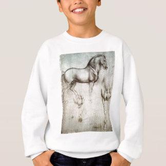 Leonardo da Vinci - Study of a Horse Sweatshirt