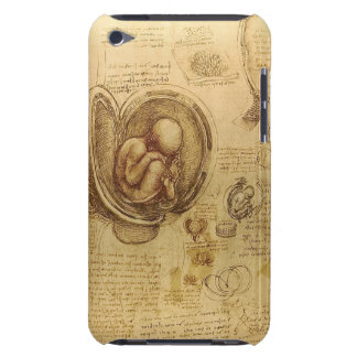 Leonardo Da Vinci - Study of Anatomy Paintings Barely There iPod Case