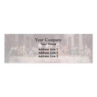 Leonardo da Vinci- The Last Supper Business Card Template