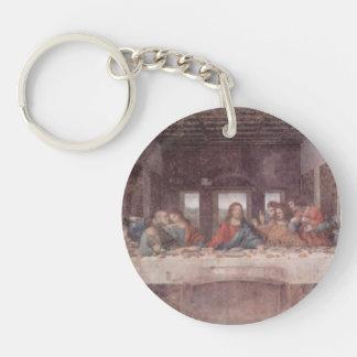 Leonardo da Vinci- The Last Supper Single-Sided Round Acrylic Key Ring