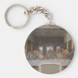 Leonardo da Vinci - The Last Supper painting Key Ring
