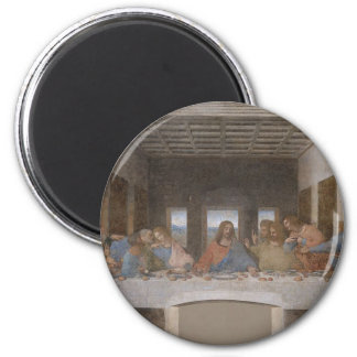 Leonardo da Vinci - The Last Supper painting Magnet