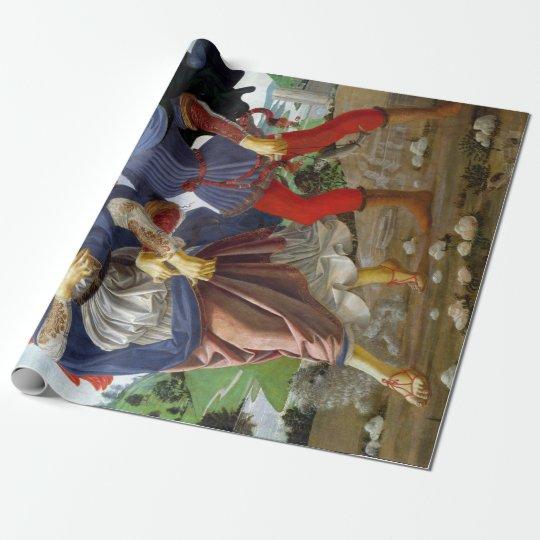 Leonardo da Vinci Tobias and the Angel Wrapping Paper