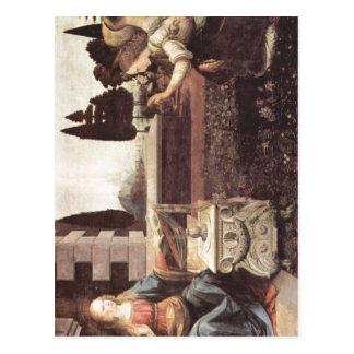 Leonardo da Vinci Verk?ndigung an Maria um 1472-14 Postcard