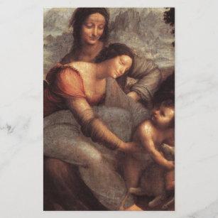 Leonardo da Vinci - Virgin and Child with St Anne