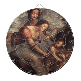 Leonardo da Vinci - Virgin and Child with St Anne Dartboard