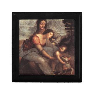 Leonardo da Vinci - Virgin and Child with St Anne Gift Box