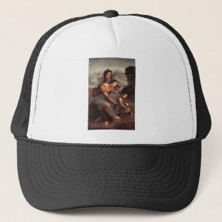 Leonardo da Vinci - Virgin and Child with St Anne Trucker Hat