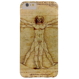Leonardo da Vinci - Vitruvian Man drawing Barely There iPhone 6 Plus Case