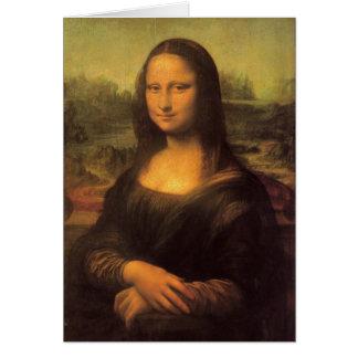 Leonardo Da Vinci's Mona Lisa Card