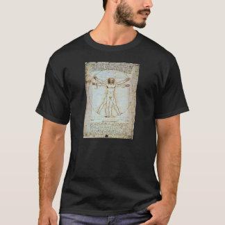 Leonardo Da Vinci's Vitruvian Man T-Shirt